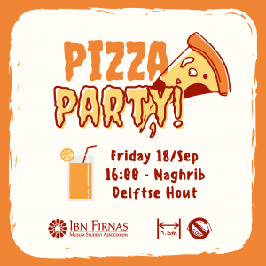 Pizza Party – Welcome Event 2020/21